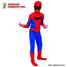 Disfraz de Hombre Araña para niños de 2 a 4 años.