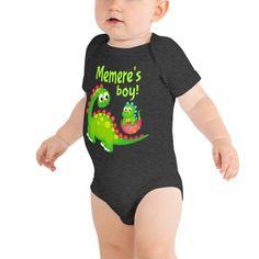Newborn Baby Girls Boys Clothes Little Shark Print Short Sleeve Onesie Bodysuit Romper Jumpsuit
