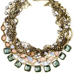 Multi-Strand Signature Torsade Necklace $168 (use promocode summer15 through 6/30/13 for 15% off and free shipping!!)