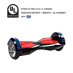 8e142c93d0a 8 Inch APP Smart Balance wheel Bluetooth Black Hoverboard With LED On Wheels  - Price Comparison