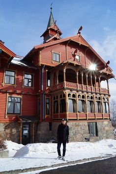 The Scandic Holmenkollen park hotel in oslo dating back to 1894