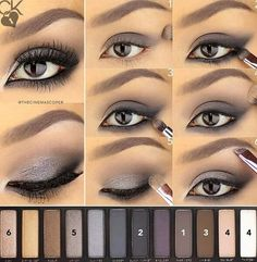 Image de eyes, make up, and tutorial