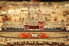 Disneyland miniature concept
