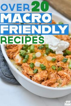 over 20 macro friendly recipes perfect for breakfast, lunch, dinner, or dessert! #iifym High Protein Recipes, Healthy Recipes, Lunch Recipes, Cooking Recipes, Budget Recipes, High Protein Meal Plan, Easy High Protein Meals, High Protein Dinner, Cleaning Recipes