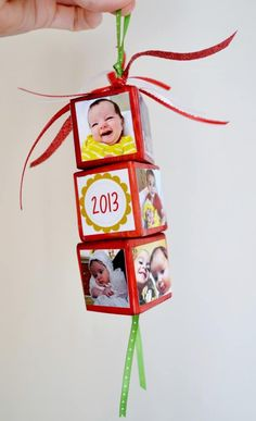 Photo Christmas Ornaments | Heartwarming DIY Photo Ornaments To Craft For Christmas