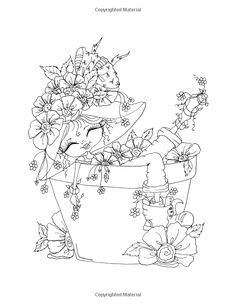 Sherri Baldy My-Besties Bloomin Besties Coloring Book: Some of Sherri Baldy's fan favorites