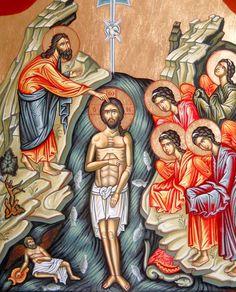 Holy Baptism / Theophany by Monica Vasiloaia of Romania