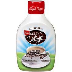 Kelly's Delight Pure Cane Liquid Sugar, 16 fl oz