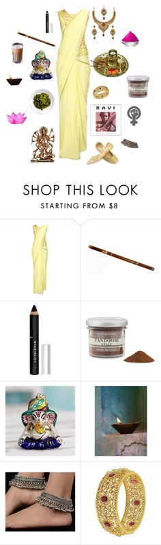 """""""Nyotalia India-Hetalia"""" by conquistadorofsorts ❤ liked on Polyvore featuring Givenchy, Williams-Sonoma and NOVICA"""