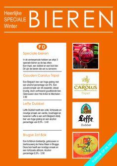 Heerlijke SPECIALE winter BIEREN! #Carolus #Leffe #BrugseZotBok