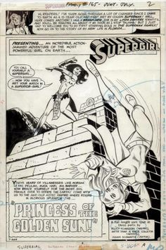 Splash page of Superman Family #165, art by Art Saaf and Vince Colletta Follow us: http://twitter.com/comixcomixcomix Like us: http://comixcomixcomix.com