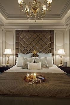 Bedroom Decorating and Design Ideas Bedroom False Ceiling Design, Master Bedroom Interior, Luxury Bedroom Design, Bedroom Furniture Design, Master Bedroom Design, Bedroom Decor, Interior Design, Neoclassical Interior, Suites