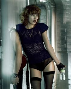 ☆ Milla Jovovich | Photography by Javier Vallhonrat | For Vogue Magazine Germany | May 2007 ☆ #Milla_Jovovich #Javier_Vallhonrat #Vogue #2007