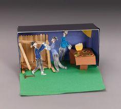 Shoebox Diorama's :  Amish Barn-Raising Diorama lesson plan