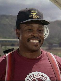 Theodore Calvin, AKA TC, Magnum's buddy and helicopter pilot played by Roger E. Mosley.....Magnum P.I.