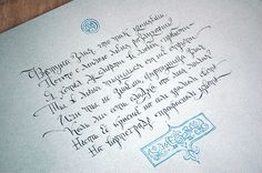 Student work in cyrillic calligraphy on Behance