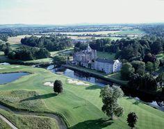 The 15th Hole Adare Golf Club at Adare Manor Hotel & Golf Resort #Ireland #golf #golfcourse