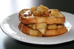 Semi Homemade Mom - Apple Stuffed French Toast www.semihomemademom.com