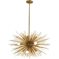 Arteriors Zanadoo 12L Iron Chandelier / love this! Like the crystal chandeliers at Met Opera, pricey so someday $1900 #lighting