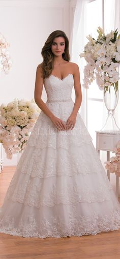 lace wedding dress from Jasmine Bridal