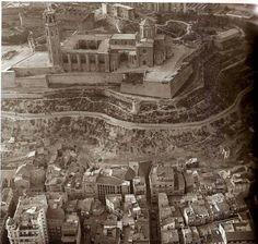 Vista aèria de Lleida, 1985