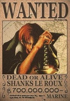 Shanks The Red One piece OP