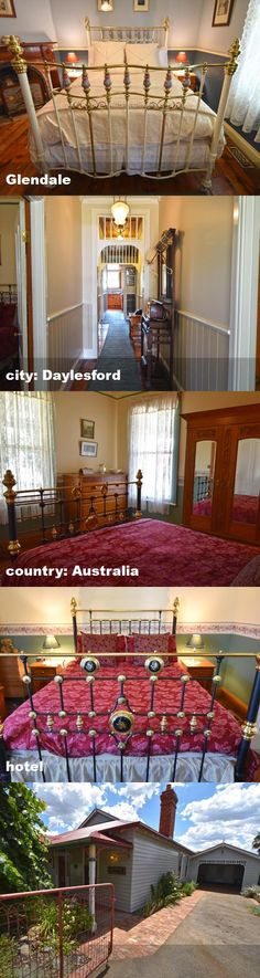 Glendale, city: Daylesford, country: Australia, hotel Daylesford, Australia Hotels, Tour Guide, Tours, Country, City, Rural Area, Travel Guide, Cities