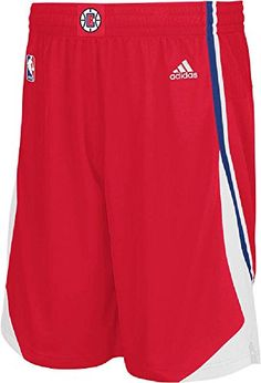 NBA adidas Los Angeles Clippers Youth Replica Shorts - Red  http://allstarsportsfan.com/product/nba-adidas-los-angeles-clippers-youth-replica-shorts-red/  Screened Clippers and NBA Logos Made by Adidas the Younger Clippers Fan Made from 100% Polyester, Machine Washable