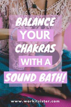Sound Baths – The Easy Way to Meditate and De-Stress Meditation For Beginners, Daily Meditation, Healing Meditation, Chakra Healing, Bath Benefits, Yoga Benefits, Sound Bath, Singing Tips, Singing Lessons