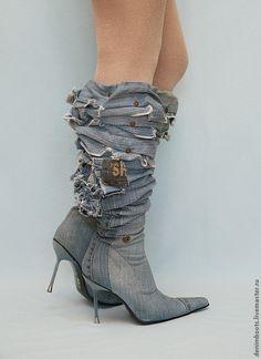 578b69efd Обувь ручной работы. Ботфорты-трансформеры