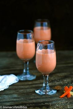 Jamaican Carrot Juice- Not your ordinary Carrot Juice , thisdelightfully creamy and Sweet Carrot Juice that is sure to please- Enjoy for Breakfast or as Cocktail. Vegan Option   Whenever I introduced this Jamaican Carrot Juice to my friends and family, there is always a fair bit of ...