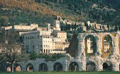 The charming village of Gubbio in Umbria