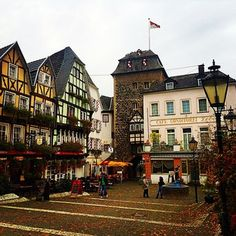 Linz, Germany | 17 Actual Towns That Look Just Like Hogsmeade/ forgot to visit Quality Quidditch Supplies in Diagon Alley. Maybe I can get a new Quaffle at Spintwitches?