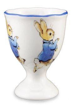 Frivolous Fabulous - Peter Rabbit Porcelain Egg Cup by Reutter Porzellan