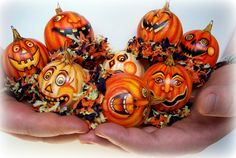 Halloween Gourds.......Tammy Strum (very creative faces)