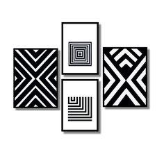 fe65af0a6 15 melhores imagens de Quadros Decorativos Geométricos