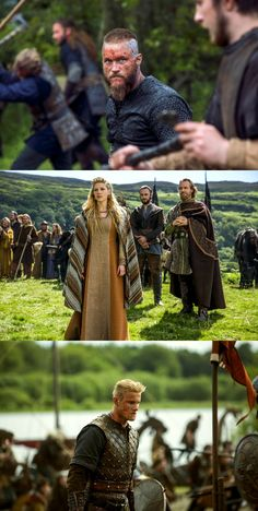Ragnar's family in S3