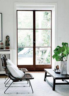 Scandinavian Design Inspired Interiors white room wood window