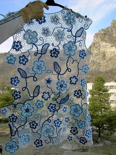 Ravelry: GalinaTabbycat's White ice See other ideas and pictures from the category menu…. Filet Crochet, Crochet Motifs, Freeform Crochet, Crochet Stitches, Ravelry, Crochet Flowers, Crochet Lace, Irish Crochet Patterns, Point Lace