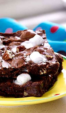 Rock 'n Roll Brownies - Box mix or from scratch