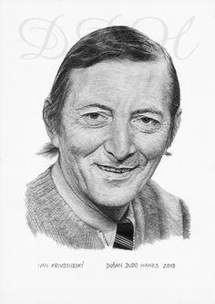 Ivan Krivosudský, portrét Dušan Dudo Hanes
