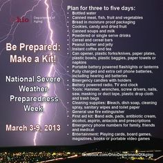 What should you have into your storm emergency kit? #ohwx #svwx #BePrepared