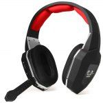 HUHD HW-399M High Compatibility Fiber-optical 2.4GHz Wireless Gaming Headset Headphone Built-in Lithium Battery for Computer Xbox One PS4 PS3 Xbox 360