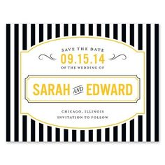 Save the Date! French Bistro Flat Cards - Stacy Claire Boyd