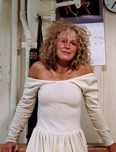 """""""Fatal Attraction"""" (1987) is a precautionary tale of infidelity and obsession with Michael Douglas (Dan), a married man who has a one night stand with a vulnerable, Glenn Close (Alex) when his wife, Anne Archer (Beth) and daughter are out of town."""