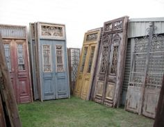 Gentil French Antique Glass Door Panels | We Have A Range Of These French Colonial  Doors In