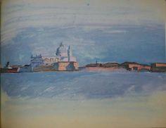 Le Corbusier, Chiesa del Redentore, Giudecca-Venice. From Album La Roche, 1924. Courtesy Fondation Le Corbusier
