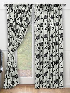 Floraison Sillhouette Curtains from Curtains 2go