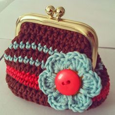 Crochet purse made by me