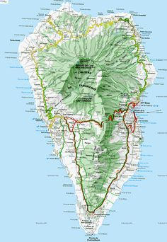 really want to go someday! Christmas Destinations, Holiday Places, Island Map, Island Beach, Beautiful Islands, Beautiful Places, La Palma Canary Islands, Parts Of The Earth, Christmas Travel